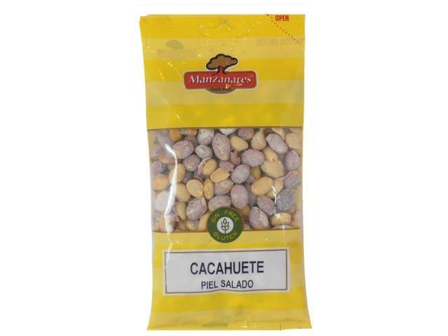 Cacahuete Piel Tostado Saladillo 150 Gr Manzanares