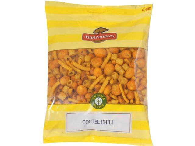 Cóctel Frutos Secos Chili 300 Gr Manzanares