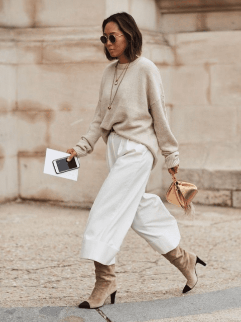 Ideal este total look oversize