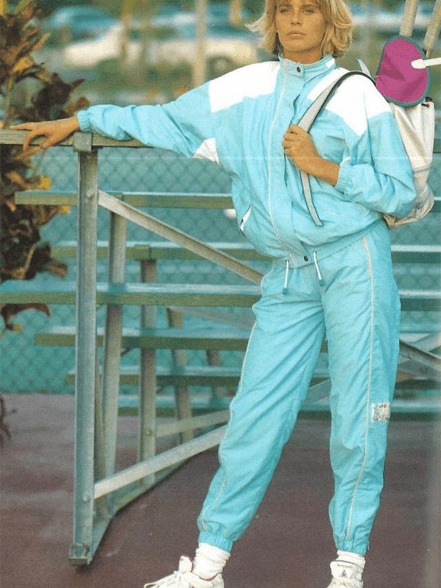 El chándal en los años 80