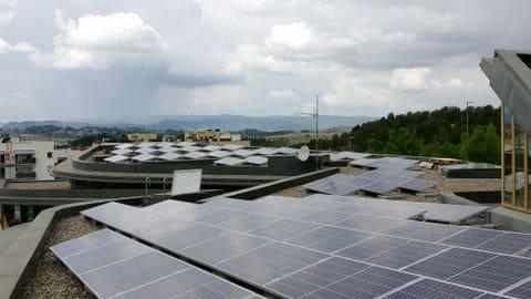 Fotovoltaica autoconsum Sant Fruitós de Bages