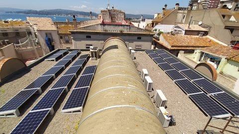 Fotovoltaica autoconsum Palamós