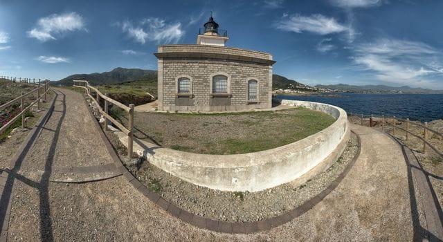Faro de s'Arenella a El Port de la Selva