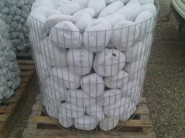 Galet blanc - Galet blanc decoratif ...