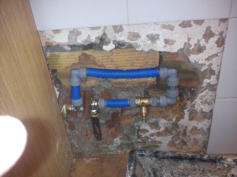 Reparacions de fontaneria abans