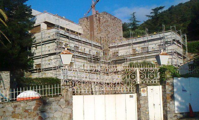 Bastida casa aïllada