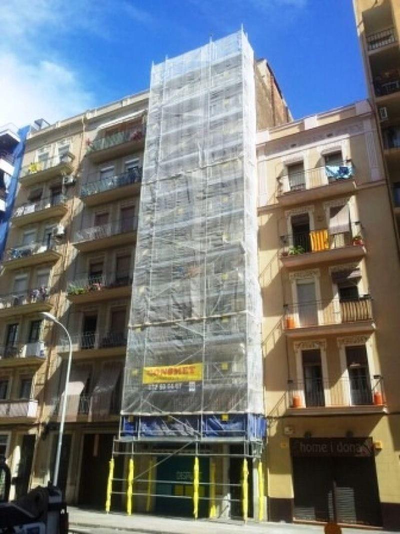 Montaje y alquiler de andamio en Barcelona