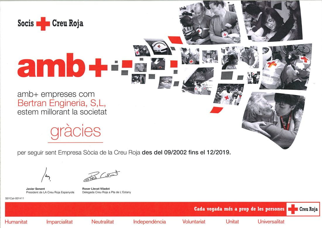 Empresa socia Creu Roja
