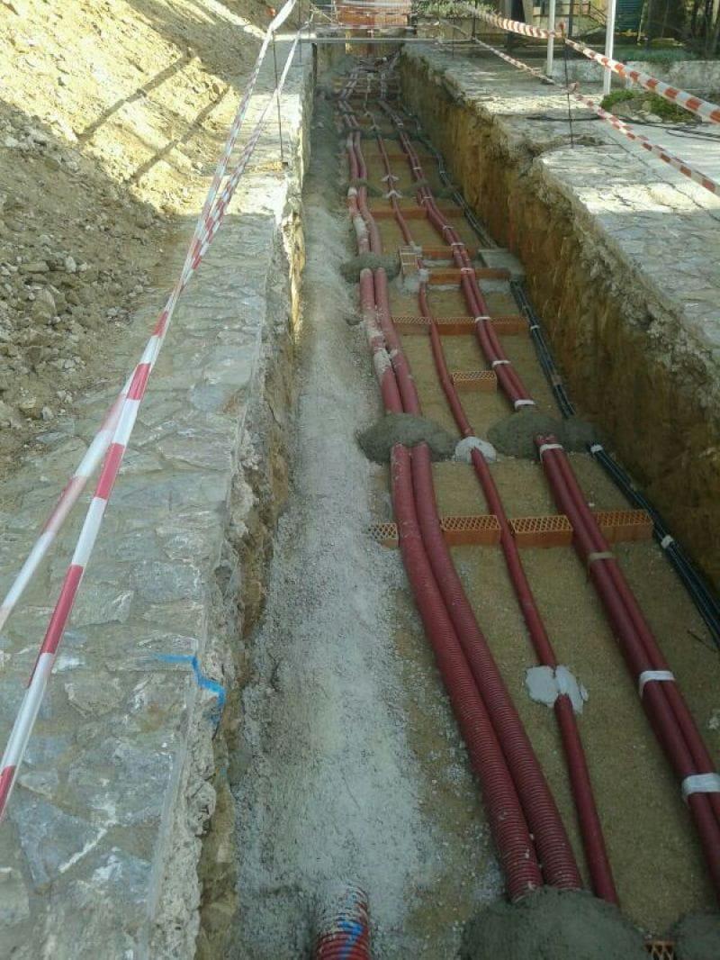 Instal·lacions en una urbanització privda de La Fosca (Palamòs)