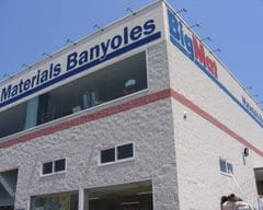 Façana BigMat Materials Banyoles