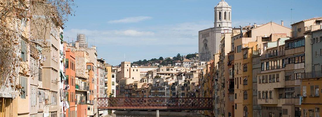Descobriu la bellesa de la ciutat de Girona.