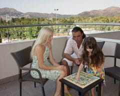 Familien Zimmer Hotel Mediterraneo Park