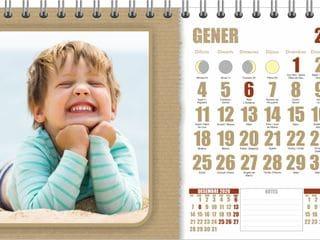 calendari personalitzat