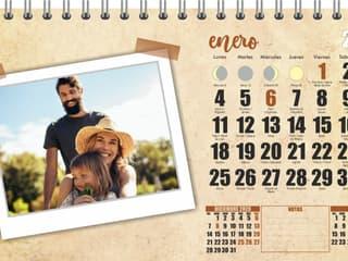 calendario sobremesa