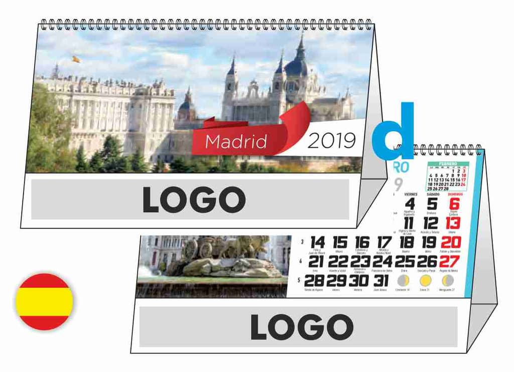 Calendrier Madrid.Calendrier Madrid W64