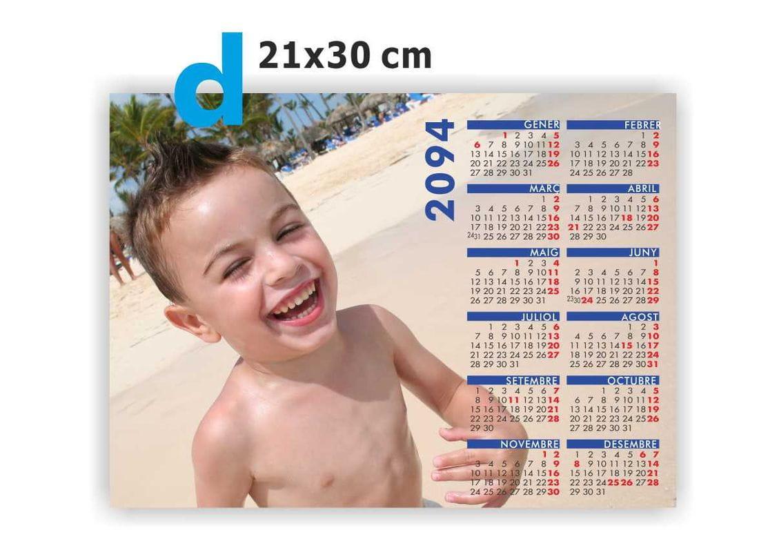 iman calendario