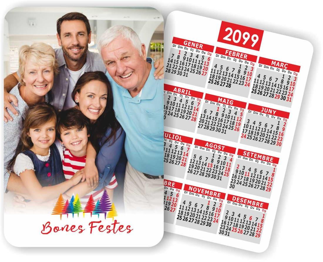 calendari butxaca