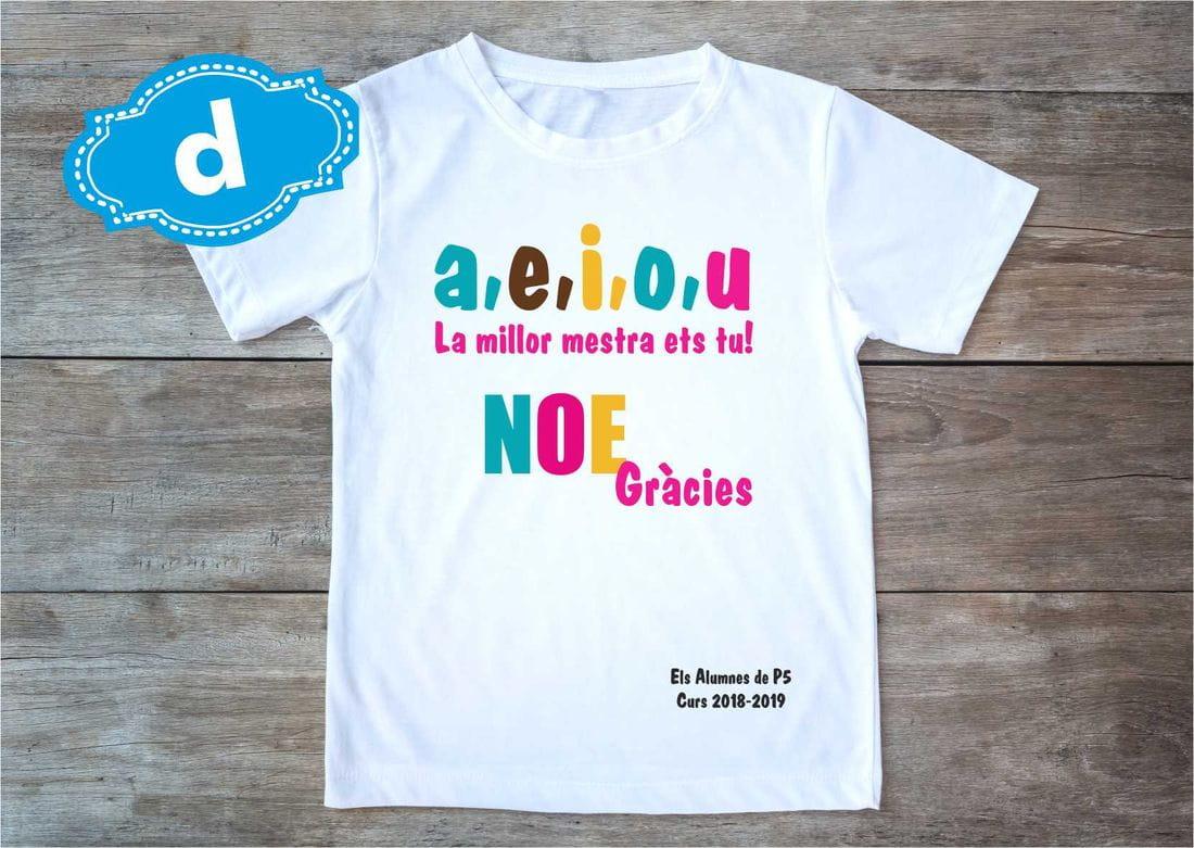 samarreta personalitzada