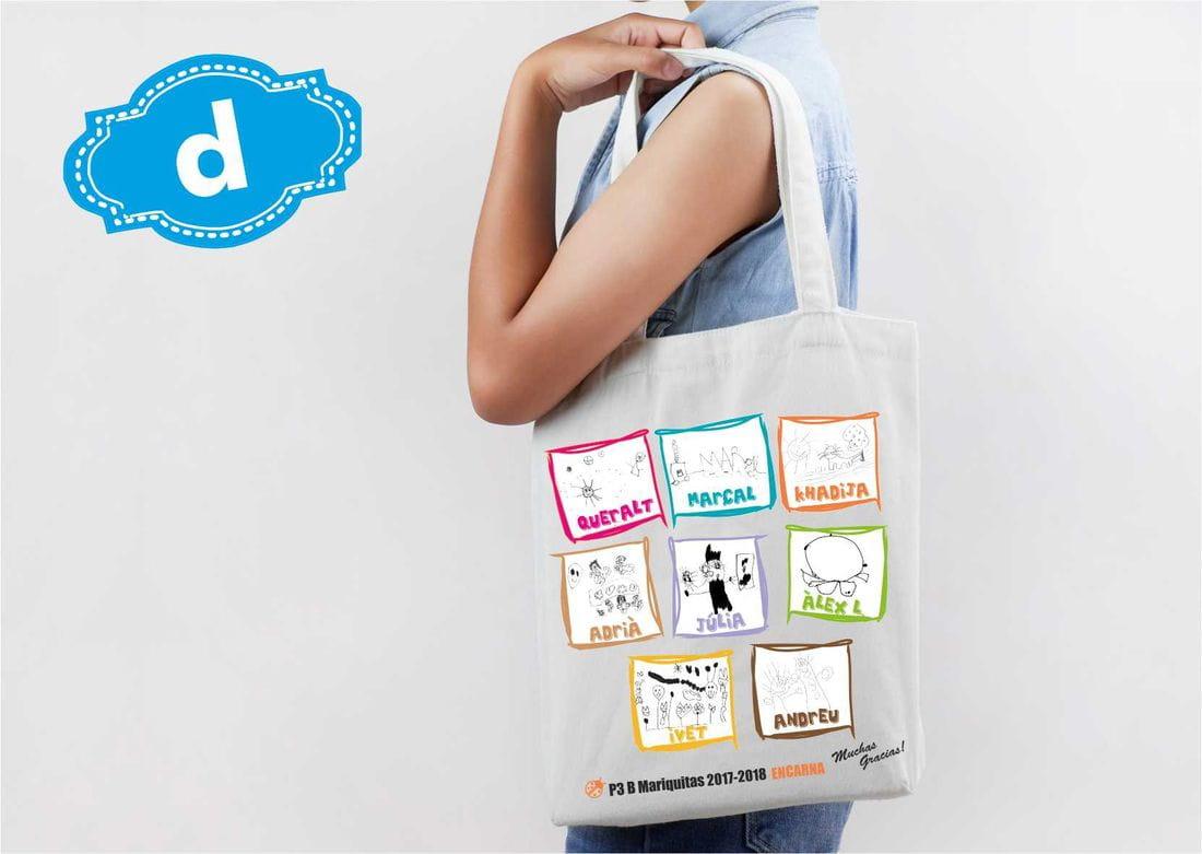 bolsa para profesor