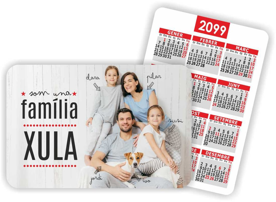 calendari de butxaca