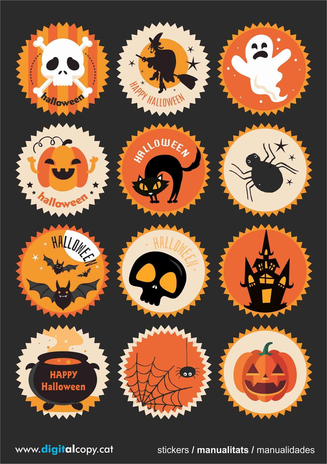 adhesiu halloween