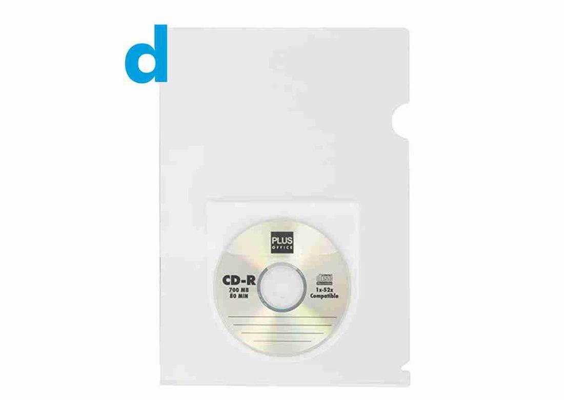 funda amb butxaca per cd