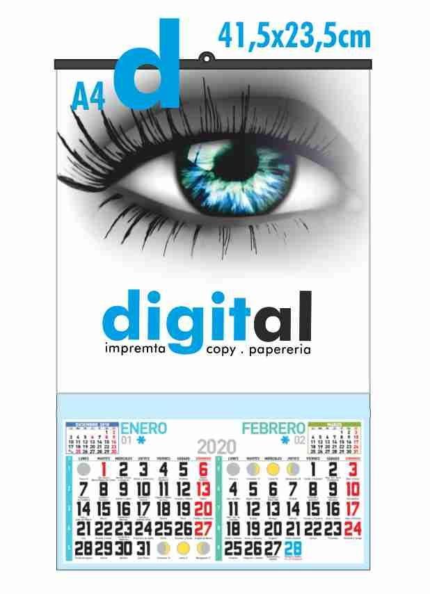calendario bimensual