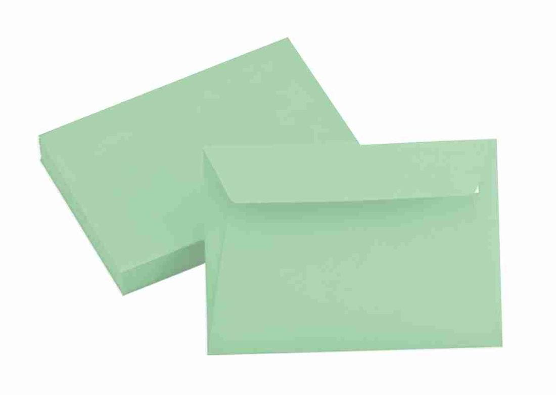 clair green envelope