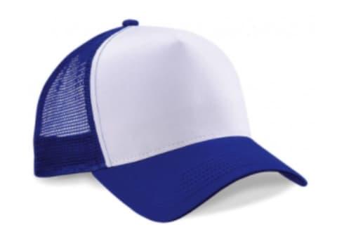 Blanco / Azul royal