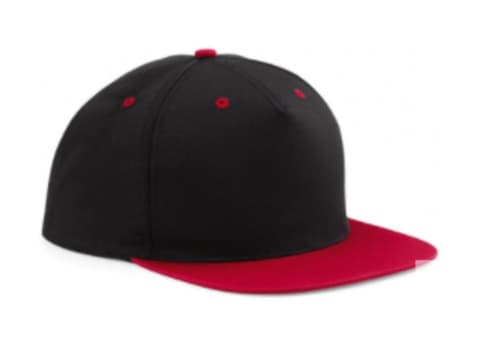 Negro / rojo