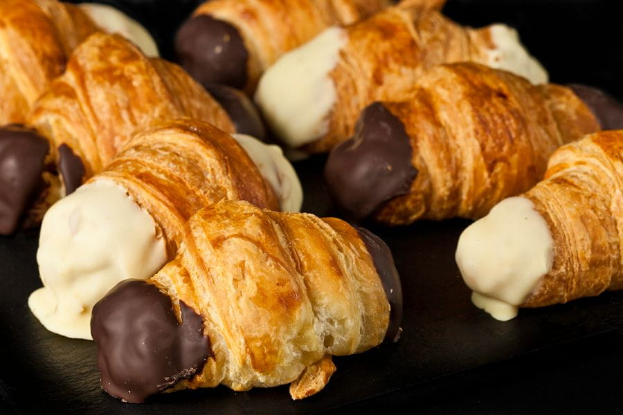 Mini Croisants de xocolata