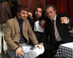 Raul Arévalo,Isaki Lacuesta y Jose Coronado