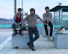 Jordi Vilches, Isaki Lacuesta y Bruno Bergonzini