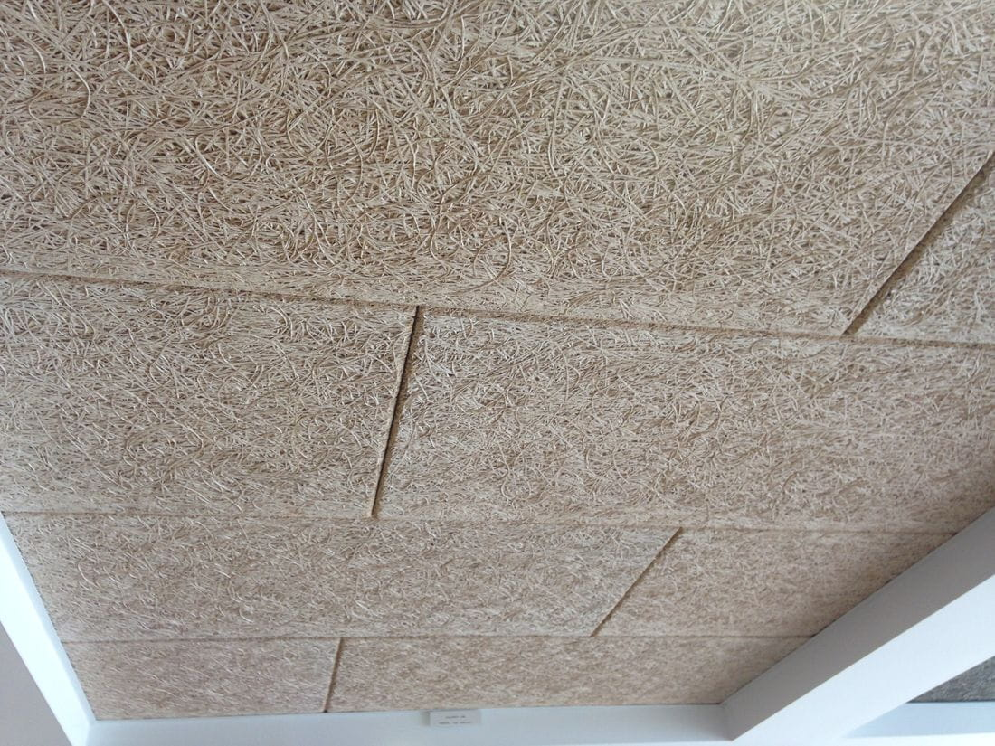 El constructor ama a su casa placas falso techo - Techos falsos de madera ...