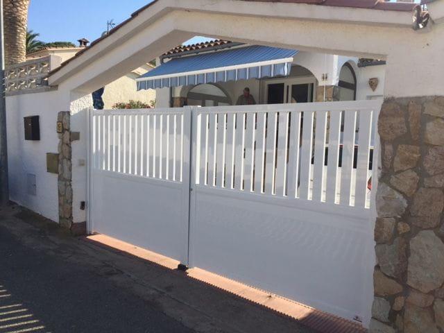 Puertas jard n tancalia - Puertas para jardines ...