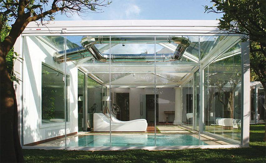Cerramientos de vidrio en l 39 escala y empuriabrava tancalia for Cerramientos de vidrio para interiores