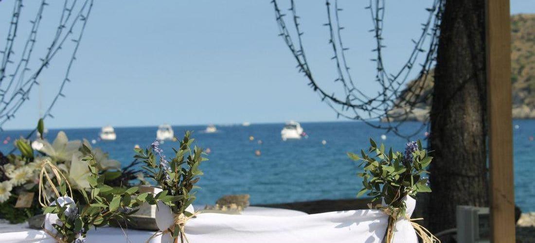 Entre Roses y Cadaques, un sitio único en la costa brava, ideal para sus celebraciones