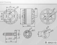 T-Motor Navigator MN3110 700KV