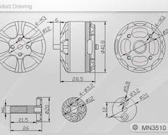 T-Motor Navigator MN3510 700KV