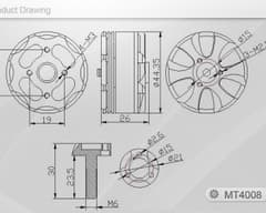 T-Motor MT4008-12 600KV