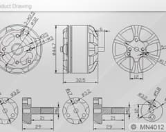 T-motor Navigator MN4012-9 480kv