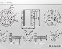 T-motor Navigator MN4014 330KV