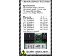 Transmisor ImmersionRC 5.8G 600mw