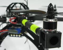 Multicoptero de carbono
