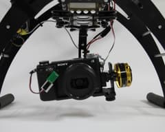 Gimbal multicoptero