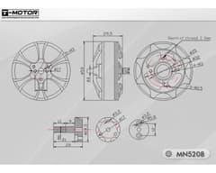 T-Motor Navigator MN5208 340KV