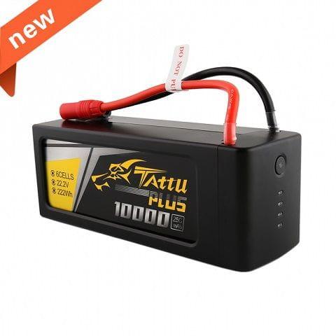 GensAce - Tattu PLUS 10000mAh 22.2V 15/30C 6S1P Bateria