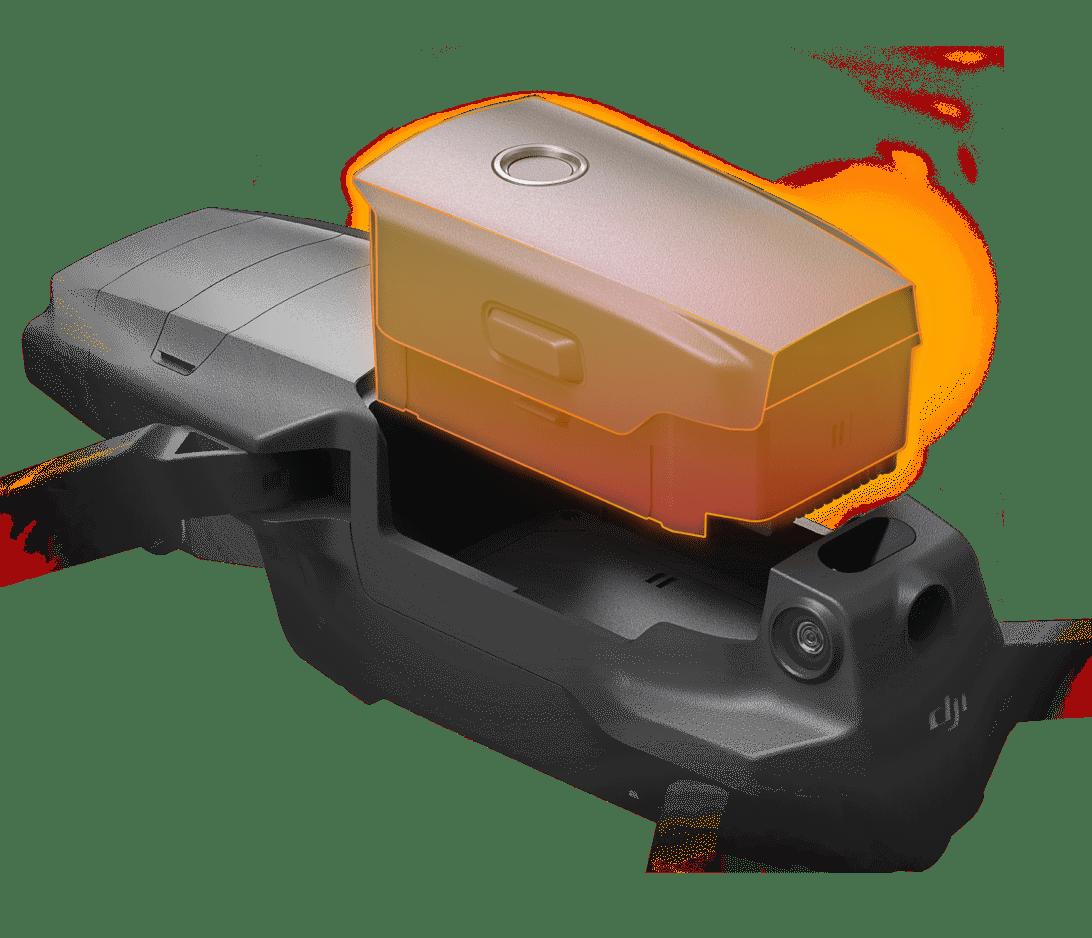 Batería inteligente para Mavic 2 Enterprise. Parte 2