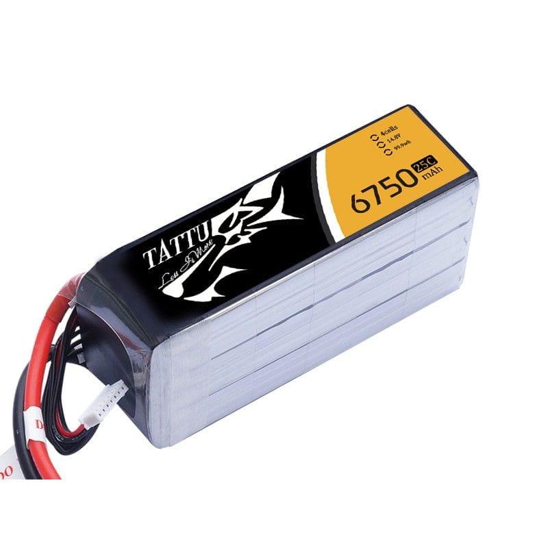 GensAce 6750mAh 14.8V 25/50C 4S1P Bateria Lipo