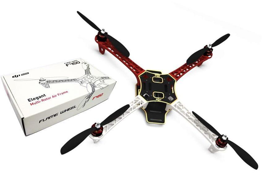Kit DJI F450 + DJI NAZA V2 + GPS + Patin